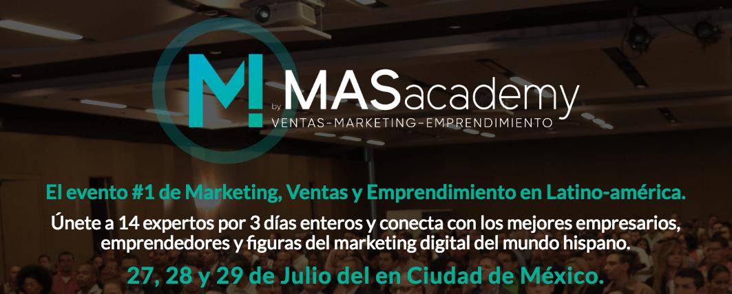 [Invitación Especial] 27, 28 y 29 de Julio en México DF: Cómo vender MAS
